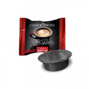 50 Capsule Caffè Borbone Don Carlo Miscela Rossa compatibile Lavazza A Modo Mio