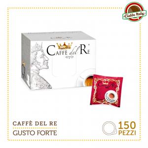 150 Cialde Filtro carta Caffè Del Re ESE 44mm Gusto Forte