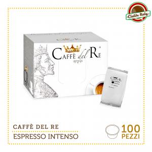 100 CIALDE CAPSULE CAFFE' COMPATIBILI LAVAZZA BLUE BLU ESPRESSO INTENSO