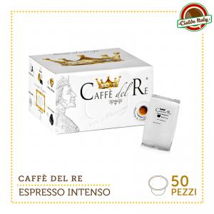50 CIALDE CAPSULE CAFFE' COMPATIBILI LAVAZZA BLUE BLU ESPRESSO INTENSO
