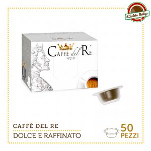 50 Cialde Capsule Compatibili Bialetti Caffè Del Re