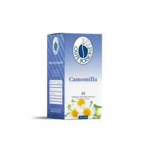 18 Cialde Camomilla in Filtrocarta Caffè Borbone ESE 44 mm