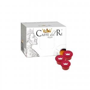 100 Capsule Caffè Del Re Dolce Raffinato compatibile Illy Mitaca Aroma Vero cialde