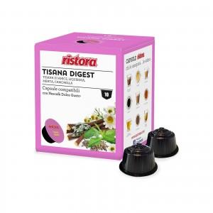 40 Capsule Ristora Tisana Digest compatibili Dolce Gusto Nescafè