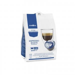 32 Capsule Caffè Gimoka Espresso Soave Decaffeinato Dek per Dolce Gusto Nescafè