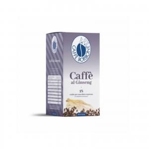 18 Cialde Caffè al Ginseng in Filtrocarta Caffè Borbone ESE 44 mm