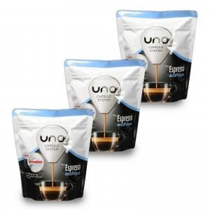 16 Capsule Caffè Kimbo Espresso Decaffeinato per Macchine Uno System