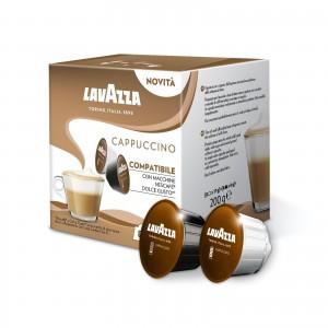 384 (192+192) Capsule Cappuccino Lavazza compatibili Dolce Gusto Nescafè