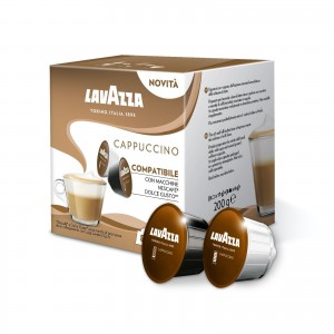 480 (240+240) Capsule Cappuccino Lavazza compatibili Dolce Gusto Nescafè
