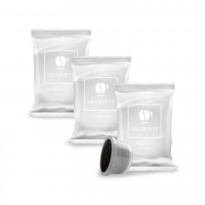 200 Capsule Caffè Lollo Argento Espresso per Lavazza Espresso Point Cialde