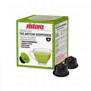 40 Capsule Ristora The Verde Matcha Giapponese compatibili Dolce Gusto Nescafè Tè Te