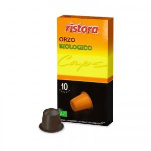 100 Capsule Ristora Orzo Biologico compatibili Nespresso