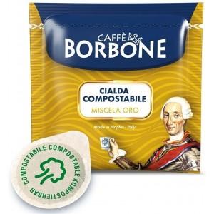 50 Cialde Caffè Borbone miscela Oro filtrocarta ESE 44mm