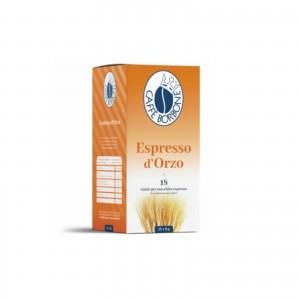 18 Cialde Espresso d'Orzo in Filtrocarta Caffè Borbone ESE 44 mm