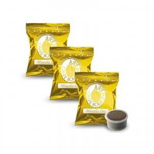 100 Capsule Caffè Borbone Miscela ORO compatibile Lavazza Espresso Point cialde