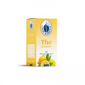 72 Cialde The tè al Limone in Filtrocarta Caffè Borbone ESE 44 mm