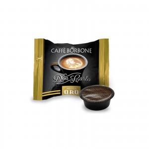 50 Capsule Caffè Borbone Don Carlo Miscela Oro compatibile Lavazza A Modo Mio