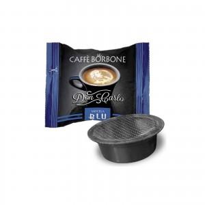 50 Capsule Caffè Borbone Don Carlo Miscela Blu compatibile Lavazza A Modo Mio