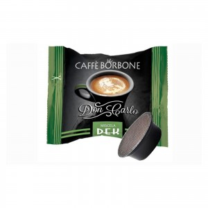 50 Capsule Caffè Borbone Don Carlo Decaffeinato Dek Dec Lavazza A Modo Mio