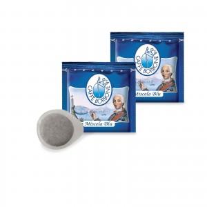 450 Cialde Caffè Borbone miscela Blu filtrocarta ESE 44mm