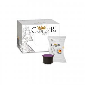 600 Capsule Caffè Del Re Miscela Dolce Raffinato compatibile Fior Fiore Coop Cialde