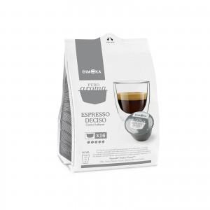 240 Capsule Caffè Gimoka Espresso Deciso compatibile Dolce Gusto Nescafè