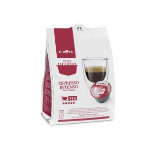 160 Capsule Caffè Gimoka Espresso Intenso per Dolce Gusto Nescafè