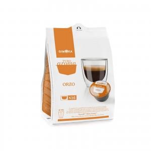 80 Capsule Caffè Gimoka Caffè d'Orzo compatibile Dolce Gusto Nescafè