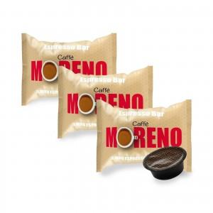 100 Capsule Caffè Moreno Mio Espresso Bar per Lavazza A Modo Mio