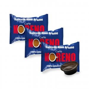 100 Capsule Caffè Moreno Mio Espresso Blue Aroma per Lavazza A Modo Mio