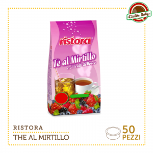 50 CAPSULE CILADE RISTORA COMPATIBILI LAVAZZA ESPRESSO POINT THE' FRUTTI DI BOSCO E MIRTILLI